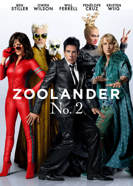 Zoolander 2 on Netflix AUS/NZ