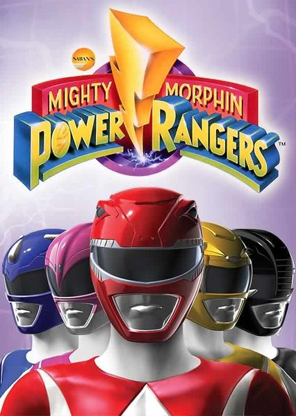 Mighty Morphin Power Rangers on Netflix AUS/NZ