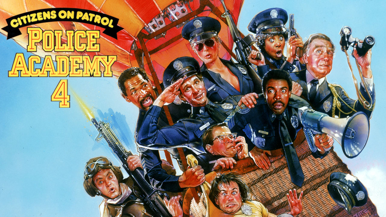 Police Academy 4: Citizens on Patrol on Netflix AUS/NZ