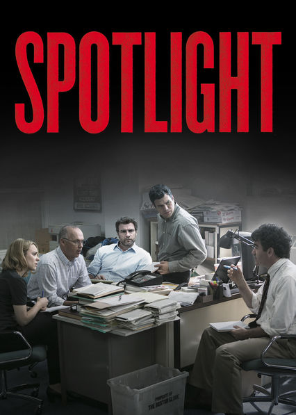 Is 'Spotlight' available to watch on Netflix in Australia or