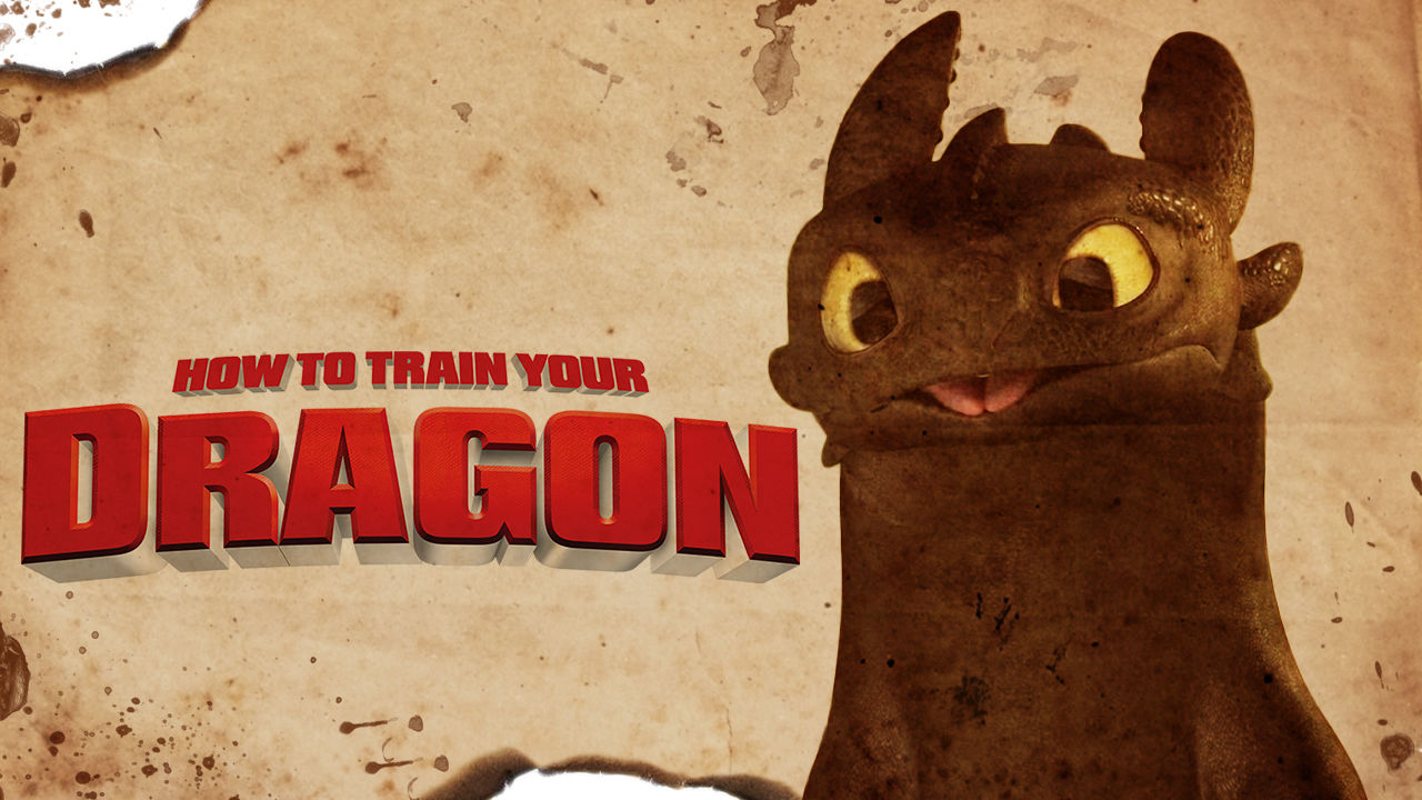 is how to train your dragon on netflix