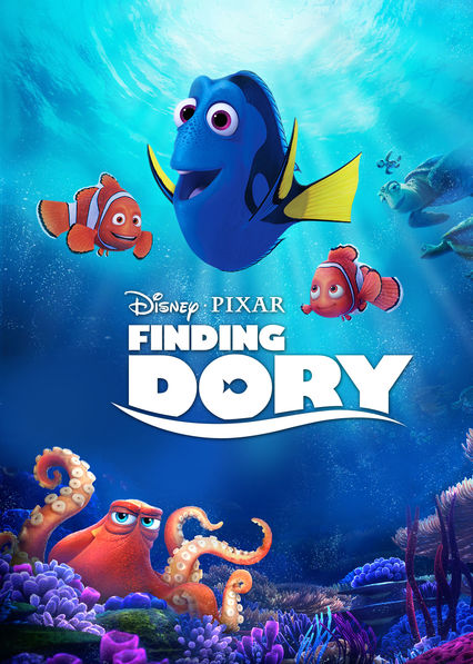 Finding Dory on Netflix AUS/NZ
