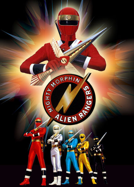 Mighty Morphin Alien Rangers on Netflix AUS/NZ