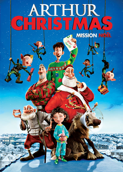 Arthur Christmas on Netflix AUS/NZ