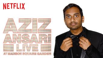 Aziz Ansari Live at Madison Square Garden (2015)