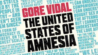 Gore Vidal: The United States of Amnesia (2013)
