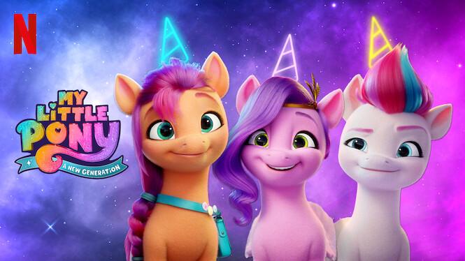 My Little Pony: A New Generation on Netflix AUS/NZ