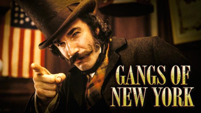 Gangs of New York on Netflix AUS/NZ