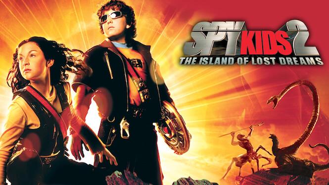 Spy Kids 2: The Island of Lost Dreams on Netflix AUS/NZ