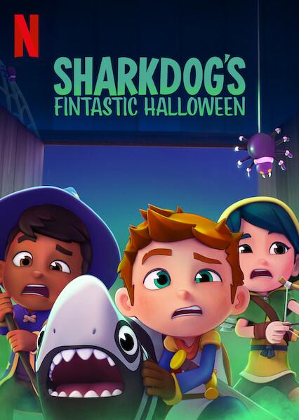 Sharkdog's Fintastic Halloween (2021) Hindi English Dual Audio Animation || 480p, 720p, 1080p WEB-DL