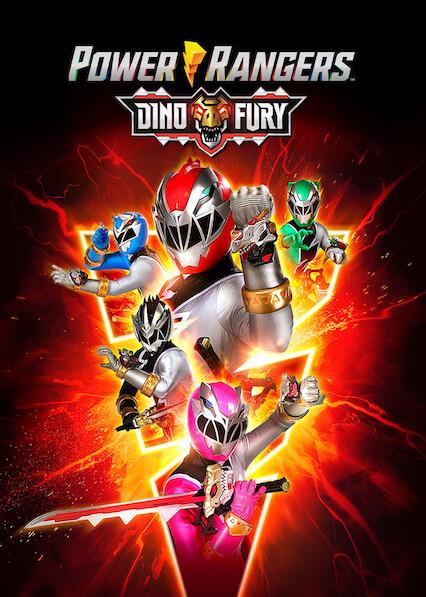 Power Rangers Dino Fury on Netflix AUS/NZ